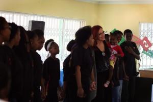 Gail & the Choir